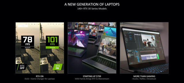 A new generation of RTX Laptops