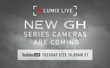 パナソニックが新しいLUMIX GHシリーズを25日に発表