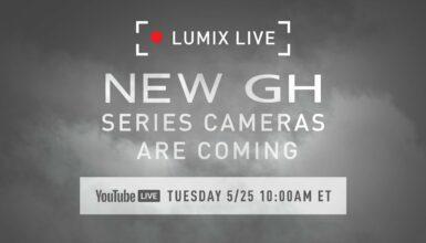 Panasonic anunciará las nuevas cámaras de la serie LUMIX GH el martes 25 de mayo