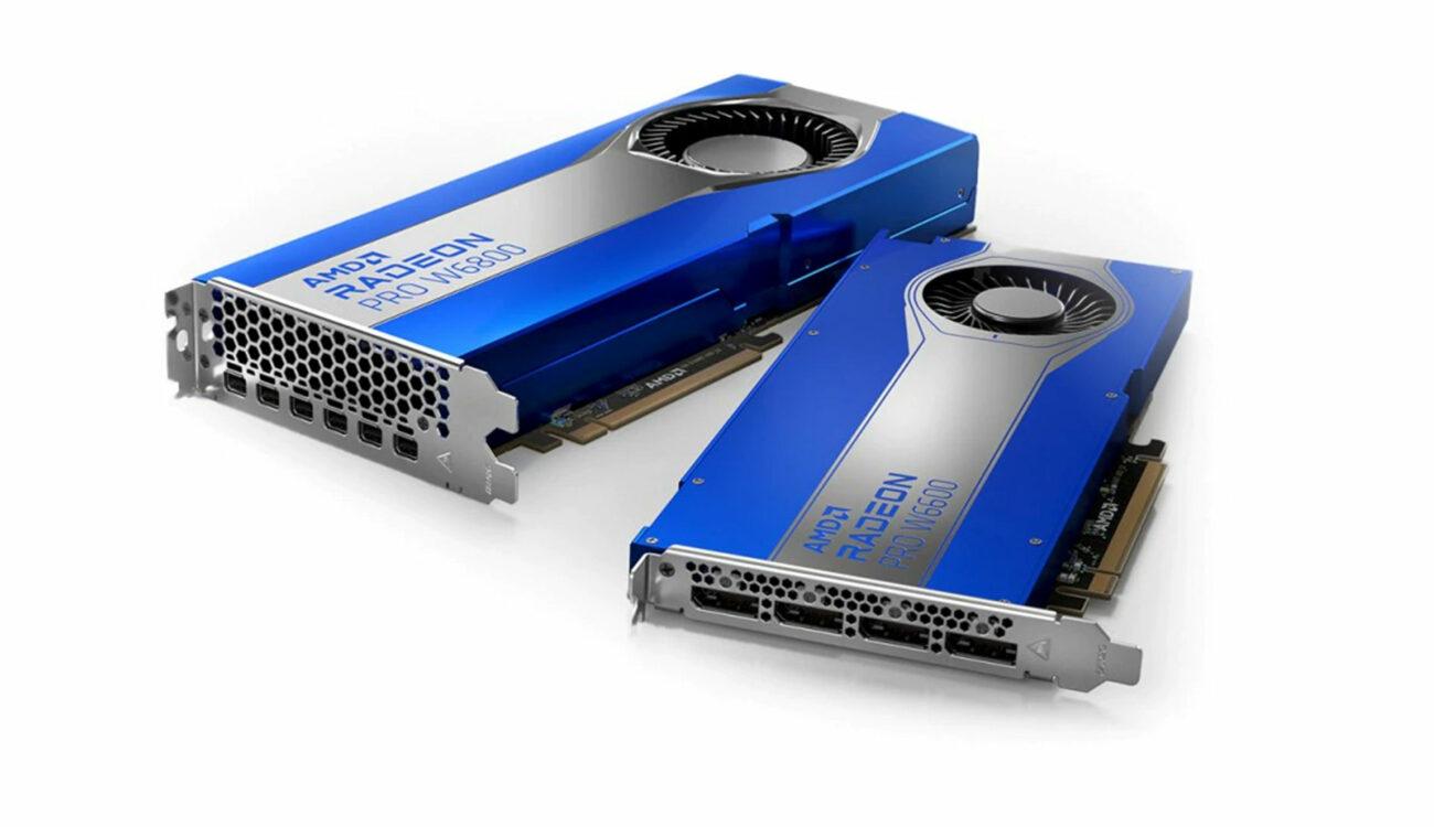 Lanzan las GPU AMD Radeon PRO W6600 y W6800