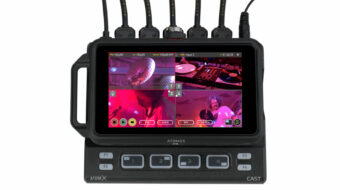 Live-streaming & Multicam Switching with the Atomos Ninja V - AtomX CAST Announced