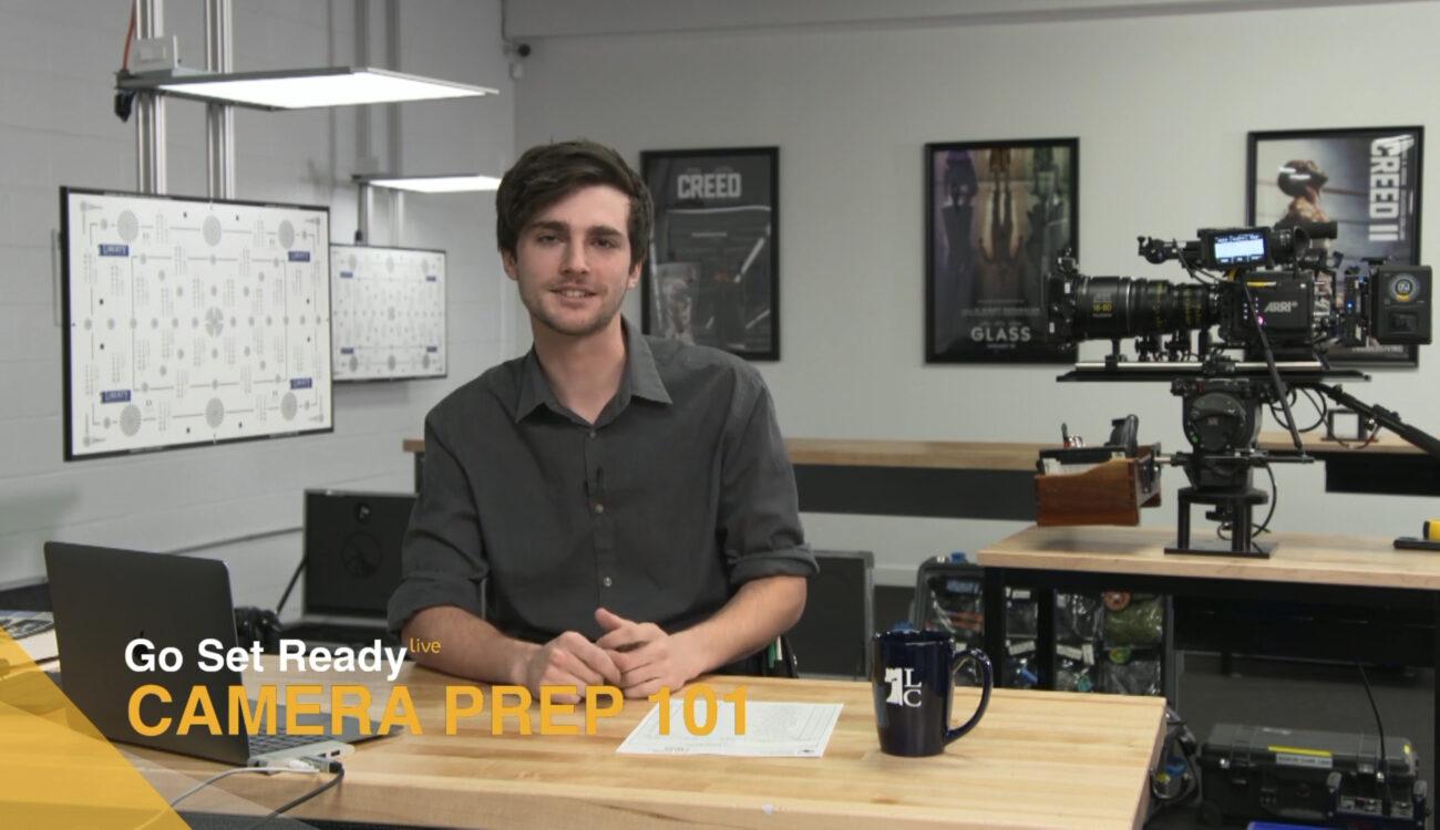 Go Set Ready Live - Camera Prep 101 con Aidan Gray