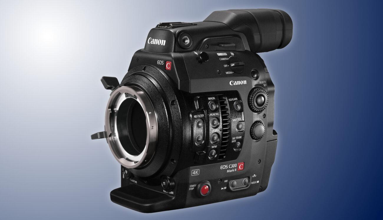 Rebaja de $2000: La Canon C300 Mark II PL ahora se vende por $4.999