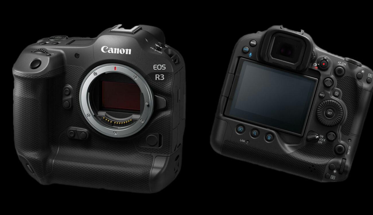 Anuncian más detalles sobre la Canon EOS R3