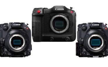 Anuncian las actualizaciones de firmware para las Canon EOS C70, C300 Mark III y C500 Mark II