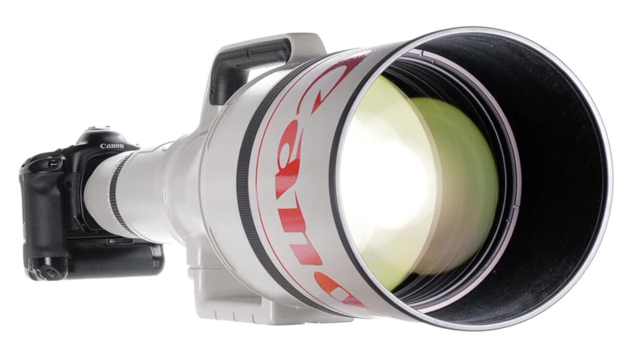 Subastarán el Canon EF 1200mm F5.6 L - El lente SLR AF más largo del mundo
