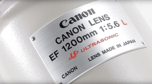 Canon 1200mm