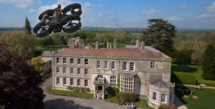 Increíble video de una sola toma grabado con drone FPV - El día de la boda