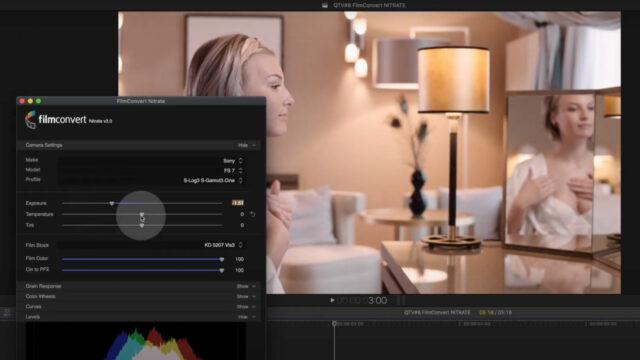 FilmConvert NITRATE for Final Cut Pro