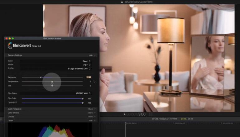 Quick Tip: FilmConvert NITRATE for Final Cut Pro
