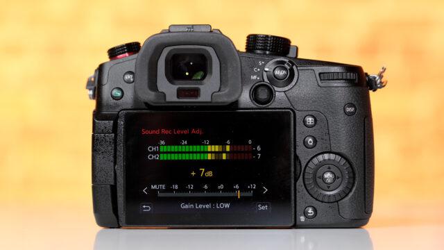 LUMIX GH5M2 No auto audio levels