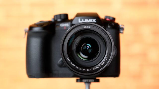 LUMIX GH5 II together with the Kit Lens