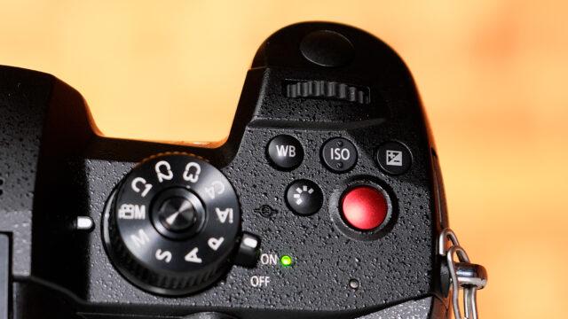 LUMIX GH5M2. Three buttons above REC