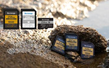 Nextorage(ネクストレージ)が高耐久、高信頼性SDカードを発表