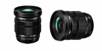 オリンパスがM.ZUIKO DIGITAL ED 8‑25mm F4.0PROレンズMFT用を発売