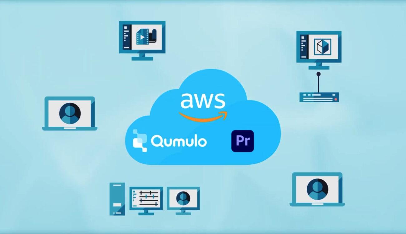 Qumulo Studio Q on AWS Announced – Run Premiere Pro in the Cloud