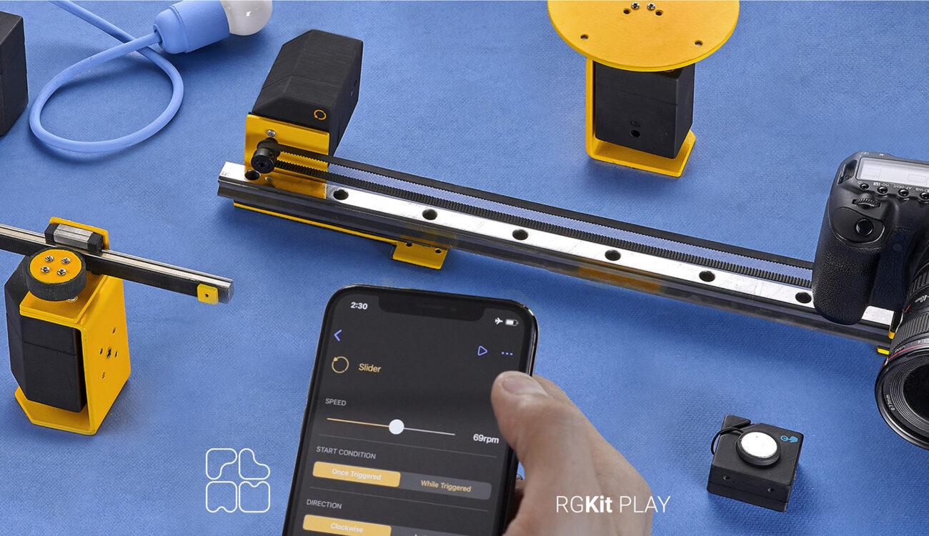 RGKit Play - Control de Movimiento sencillo de utilizar y asequible