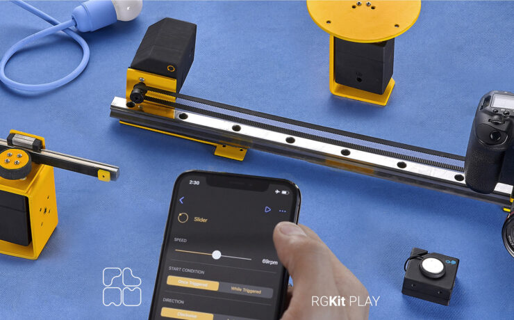 RGKit Play – Motion Control Made Easy and Affordable