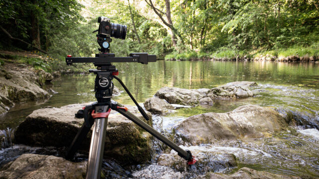 Timelapsing at the river.