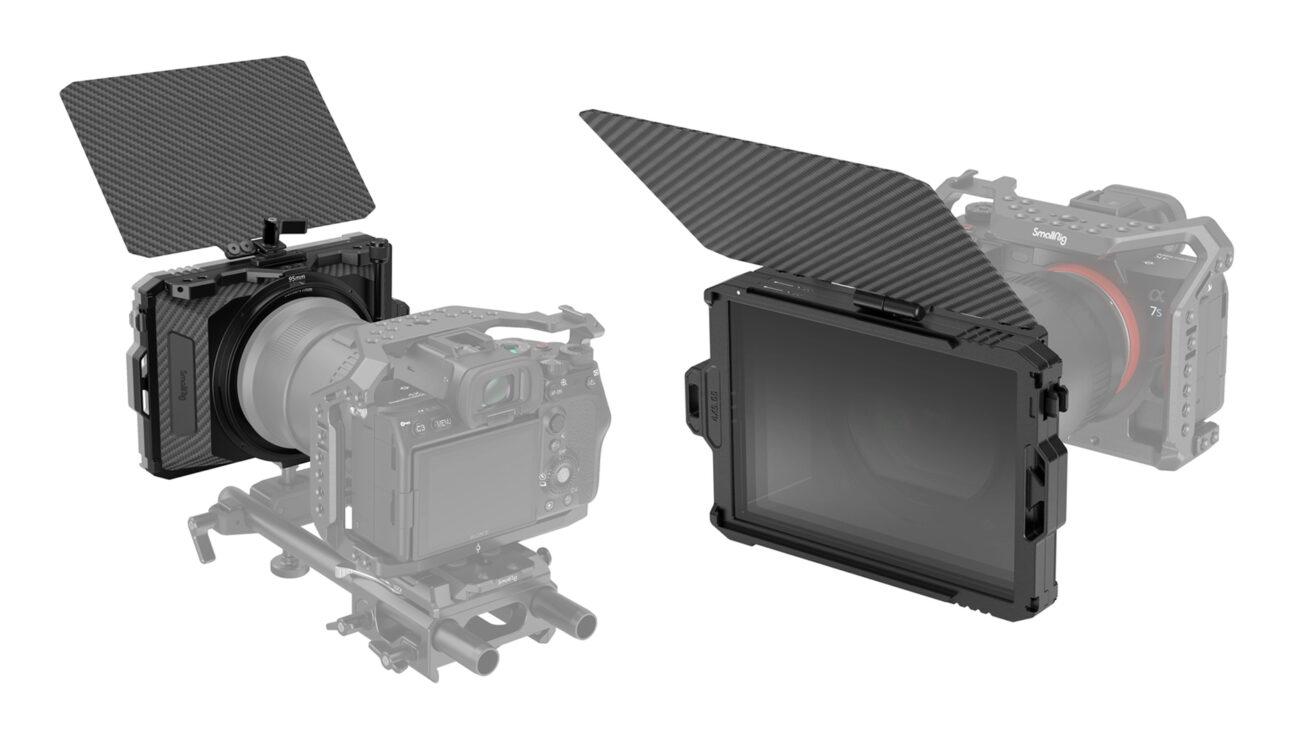 Anuncian la matte box SmallRig Mini con filtros apilables