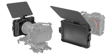 SmallRig Mini Matte Box with Stackable Filters Announced