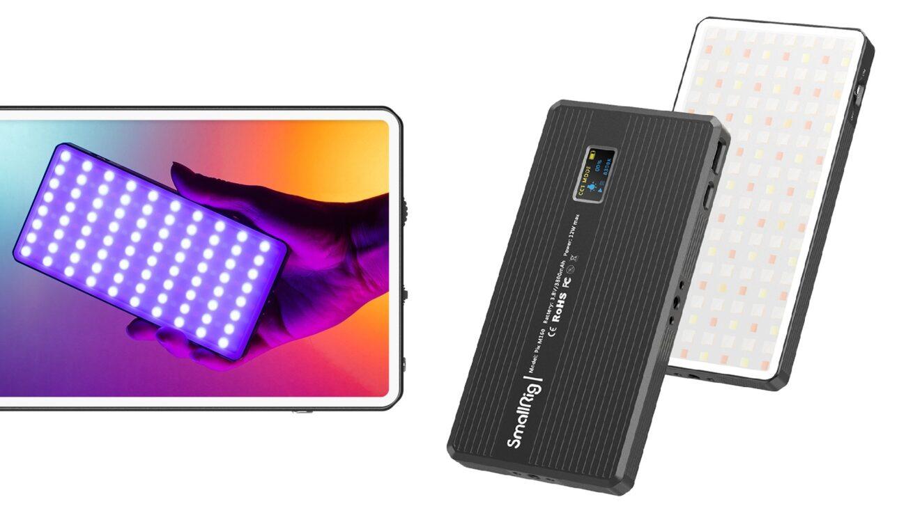 SmallRig Pix M160 - Yet Another Pocket-Sized RGBWW LED Light