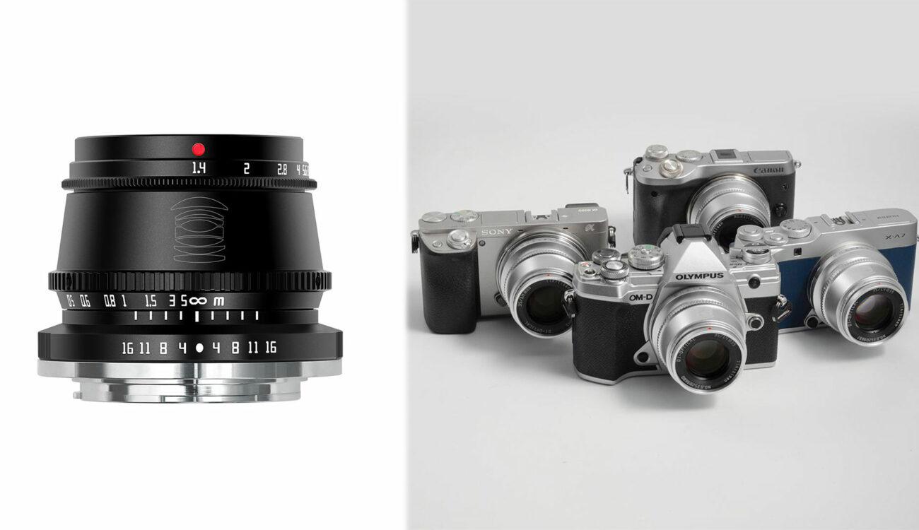 TTArtisan 35mm F/1.4 – a $73 Lens for APS-C Mirrorless Cameras