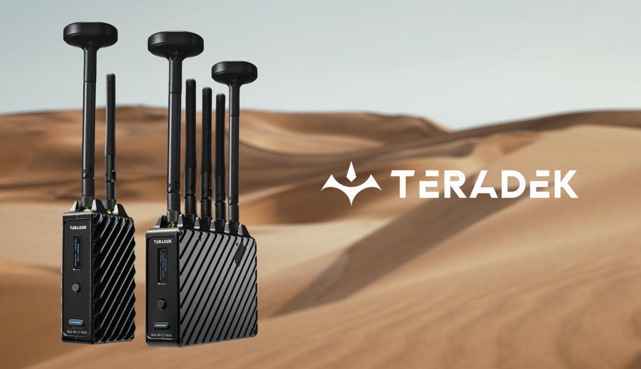 Teradek Bolt 4K LT MAX Announced - 5000+ Feet Range, Lightweight 4K HDR Monitoring