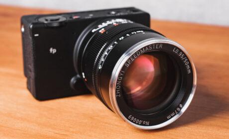 Lanzan el lente Mitakon Speedmaster 50mm F0.95 III para montura L-Mount