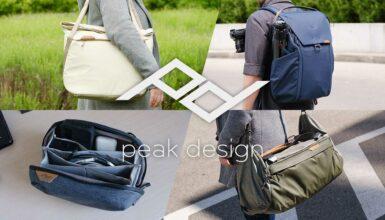 Un día de viaje con la línea de bolsos Everyday de Peak Design