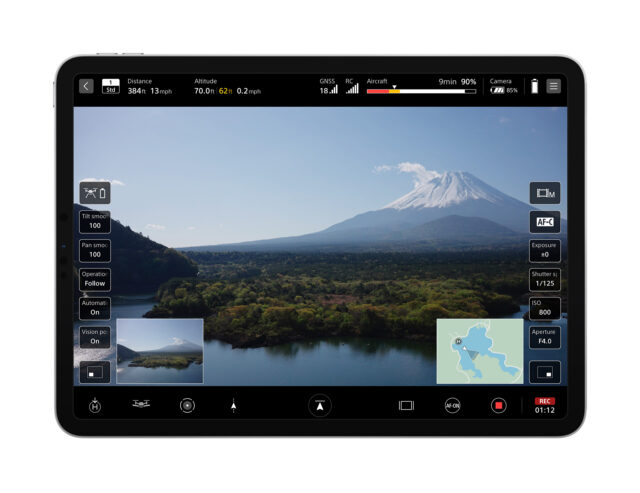"""""""Airpeak Flight,"""" an iOS® and iPadOS® compatible application, Sony Airpeak S1 Drone Announced"""