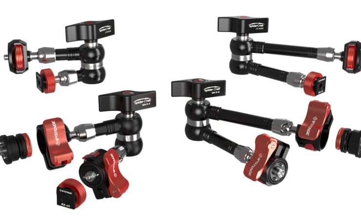 iFootage Spider Crabs Released – Versatile Mounting System for Camera Rigs