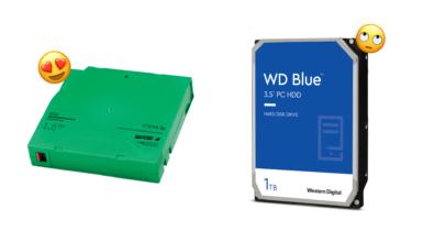 LTO-Tape: ¿El mejor medio de almacenamiento para las copias de seguridad?
