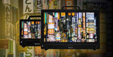 SmallHD Cine 13 Production Monitor – Bright 4K Image on a Small Screen