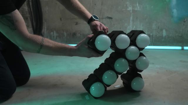 PixelBricks mounted together