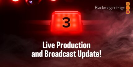 Blackmagic Design realizará un anuncio sobre la transmisión y producción en vivo: ¿Habrá alguna sorpresa?