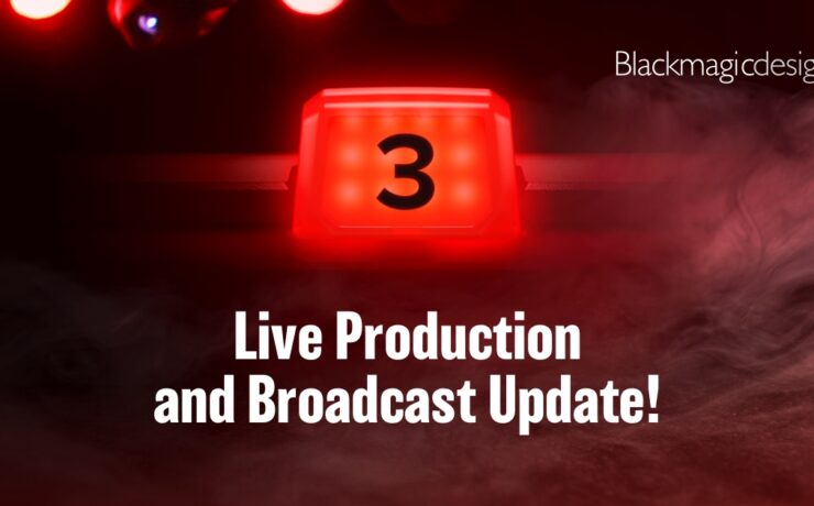 Blackmagic Design Live Production and Broadcast Announcement – Maybe More?