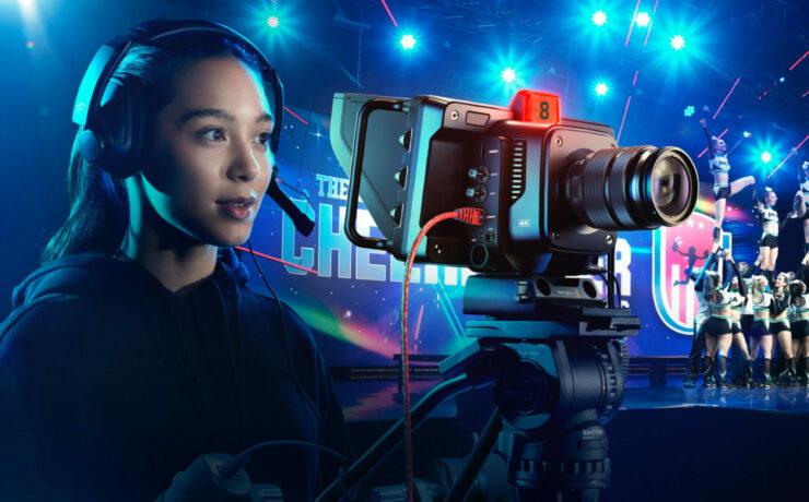 Blackmagic Studio Camera 4K Pro, 4K Plus and Studio Converter Announced