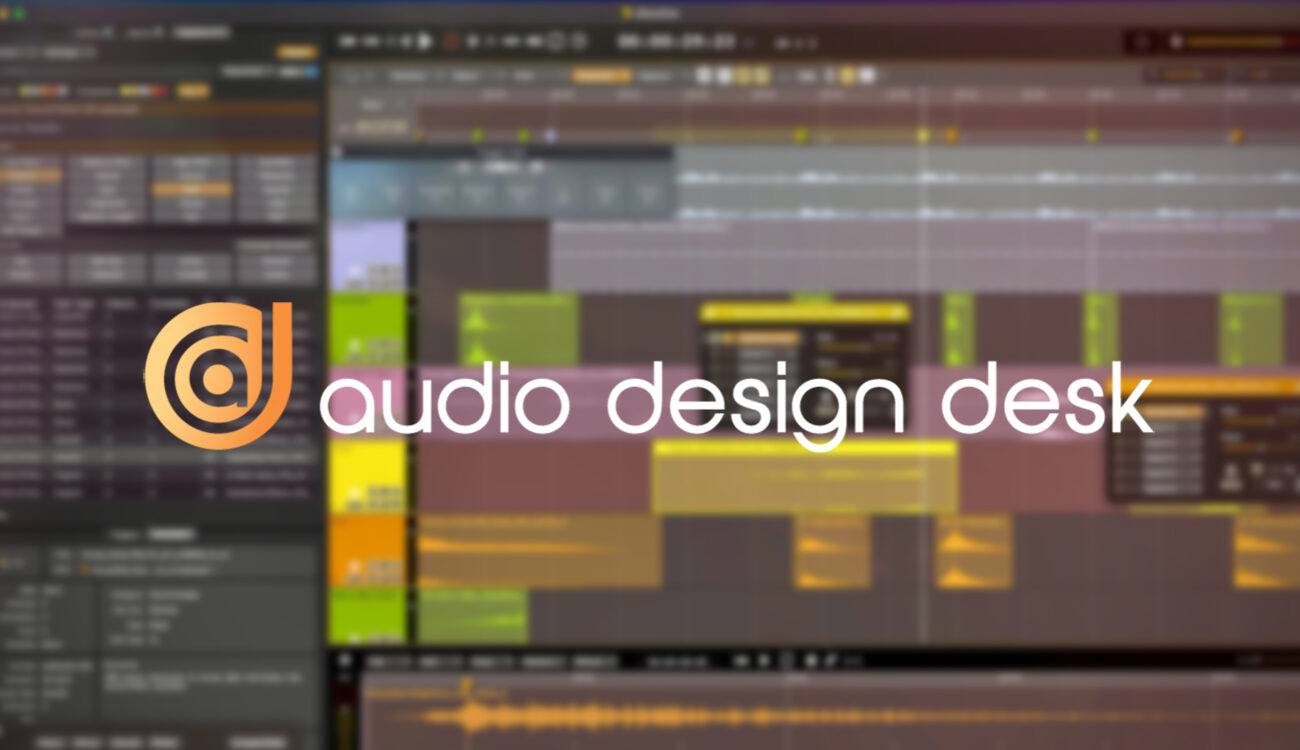 Audio Design Desk v1.7 with Spot Mode – 30.000 Sounds and Music in your NLE
