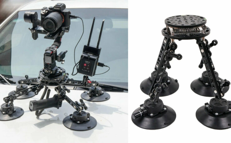 CAME-TV SK06 Introduced – DJI RS2 Compatible Suction Cup Mount