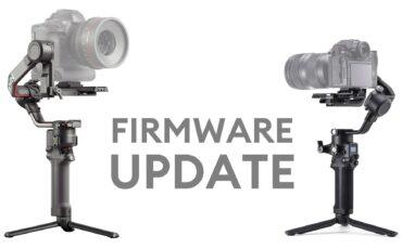 DJI RS 2およびRSC 2ファームウェアアップデート