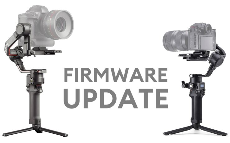 DJI RS 2 and RSC 2 Firmware Update - More Supported Camera Features