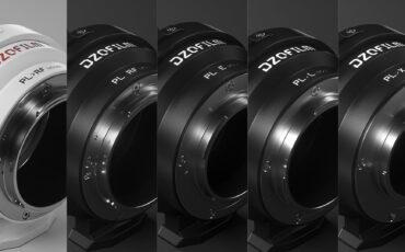 DZOFILMがオクトパスレンズアダプターを発売