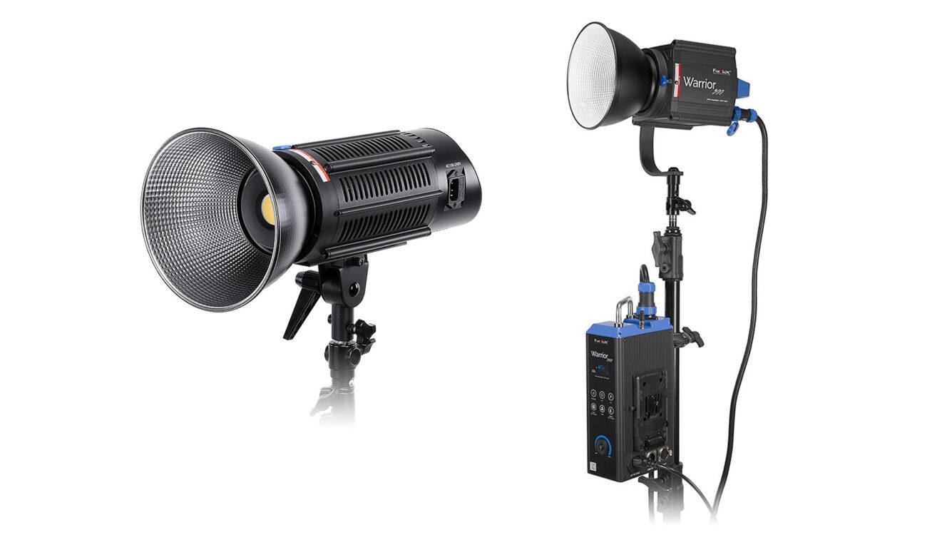 FotodioXがWarrior 150と300デイライトLEDライトを発表