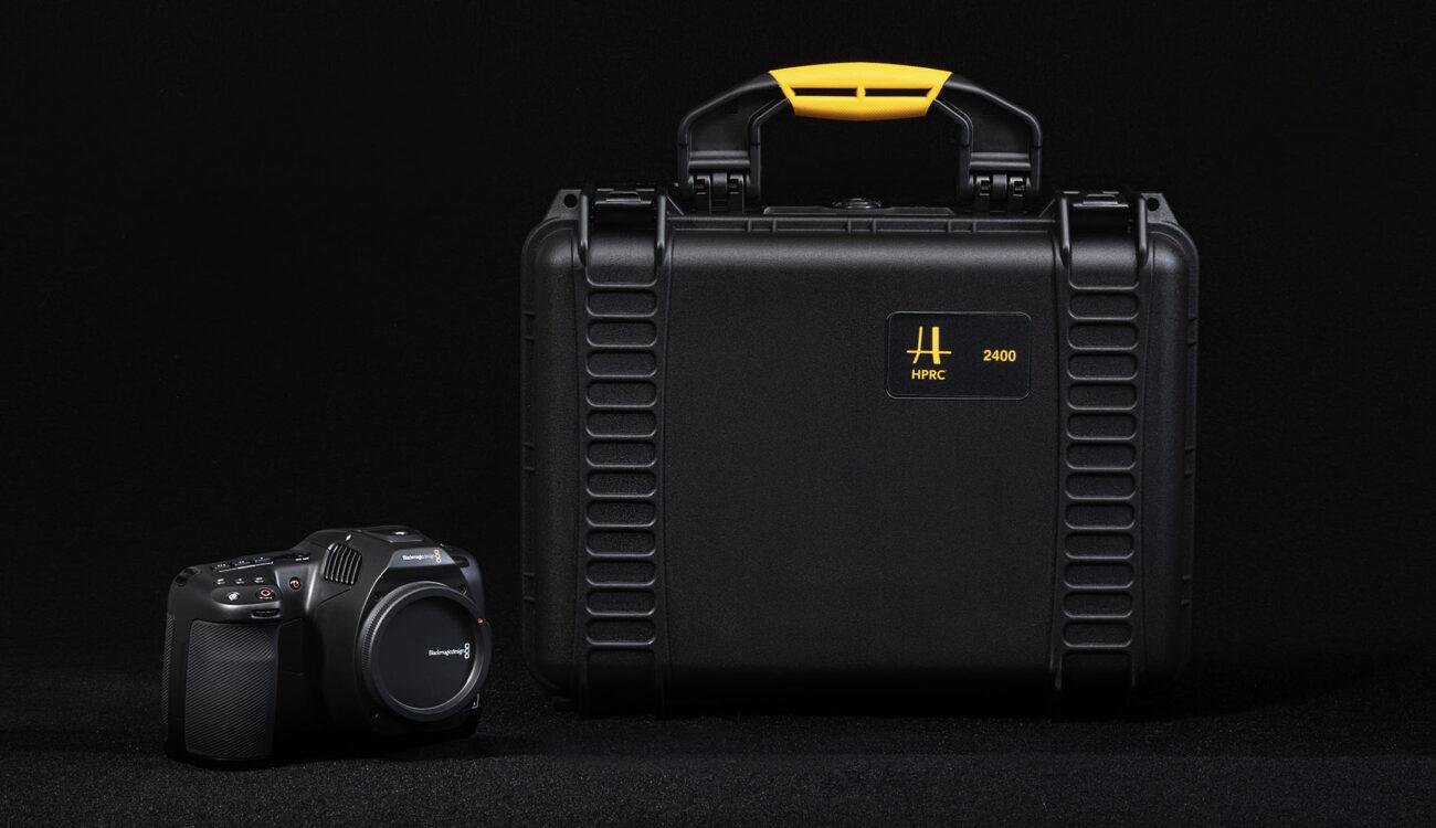 Nuevos HPRC READY - Estuches rígidos listos para usar para las BMPCC 4K, 6K y 6K Pro, Canon C70, R5, R6 y la línea Cinema de Sony