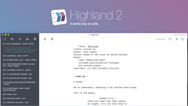 Highland 2 by John August.