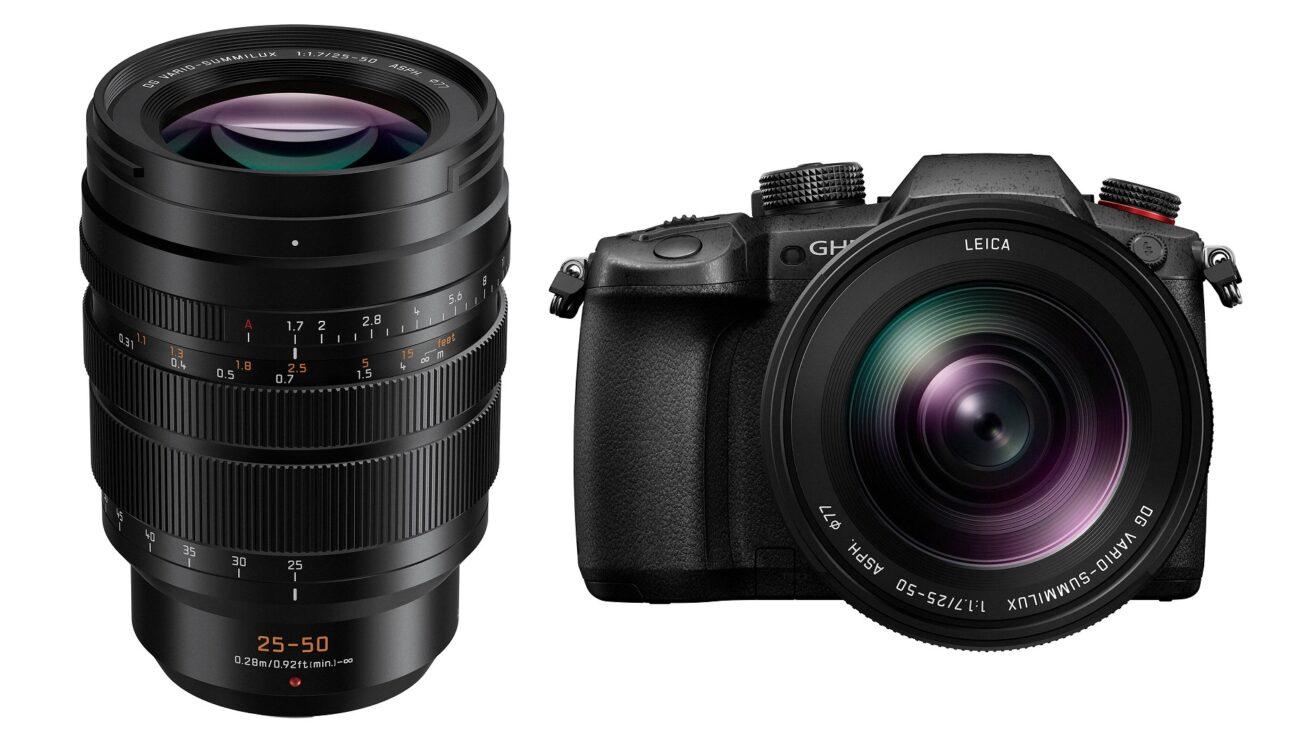 Panasonic Leica DG Vario-Summilux 25-50mm f/1.7 Lens - Launch