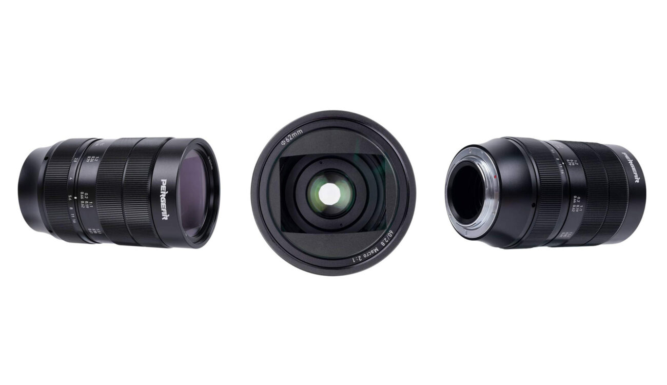 Pergear 60mm F/2.8 Ultra-Macro 2x Magnification Lens Released