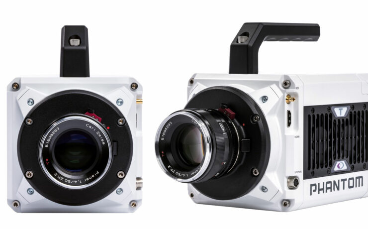 Up to 1.16 Million Frames per Second – Phantom TMX5010 and T3610 Released