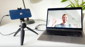 ProCamera v14.4でiPhoneをウェブカメラに